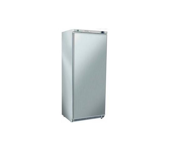 Armoire 1 porte 600 lt inox froid negatif