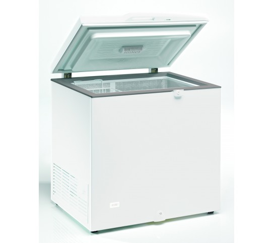 "Refroidisseur horizontal ""frigo bahut"" 300 litres blanc"